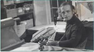 Charlie Walbridge sewing Hi Float PFD