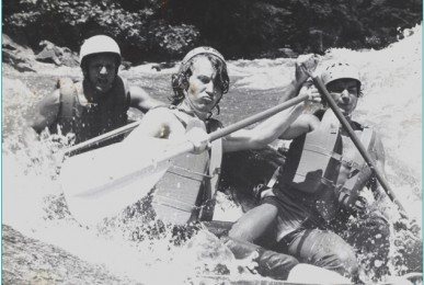 Charlie Walbridge raft guide