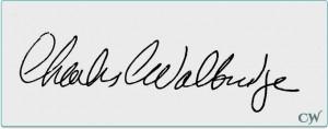 Charlie Walbridge Signature
